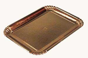 Scatolificio Martinelli Srl: vassoio oro