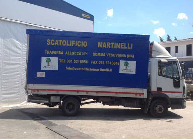 Scatolificio Martinelli Srl - Piazzale di carico e scarico delle merci