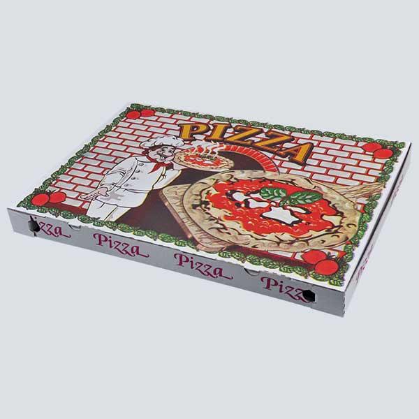 Scatolificio Martinelli Srl – Scatola pizza 40x60x5 Occhiellata con stampa generica e personalizzata