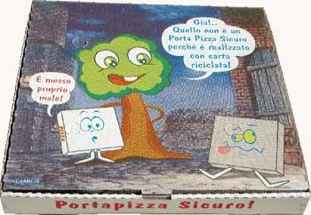 Scatolificio Martinelli Srl – produzione Scatole pizza di tutte le misure a Somma Vesuviana (Napoli): progetto Portapizza Sicuro